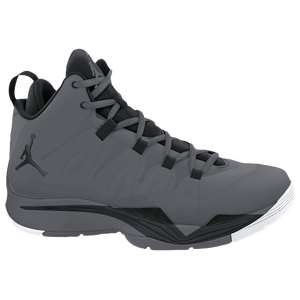Jordan Super.Fly II - Boys' Grade School - Dark Grey/Black/White