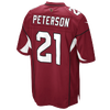 Nike NFL Game Day Jersey - Men's -  Patrick Peterson - Arizona Cardinals - Red / White