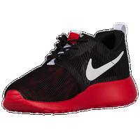 Nike Roshe Run Flight Weight - Boys' Grade School - Black / White