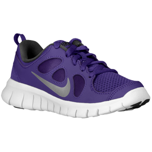 Nike Free 5.0 - Boys' Preschool - Court Purple/Metallic Silver/Black/White