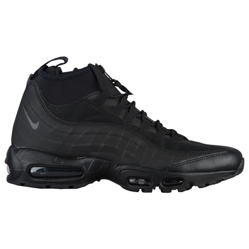 ... Nike Air Max 95 Sneakerboots - Men\u0026#39;s - All Black / Black