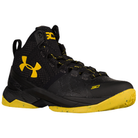 under armour curry 2 yellow white