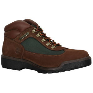 Timberland Mid Field Boot - Men's - Brown Nubuck/Olive