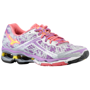 Mizuno Wave Creation 15 - Women's - Silver/Bolt/Dewbry