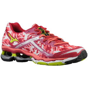 Mizuno Wave Creation 15 - Women's - Cerise/Lime Punch/Sugar Coral