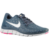 Nike Free 5.0 V4 - Women's - Navy / Orange