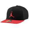 Jordan True Ele Bill Snapback Cap - Black / Red