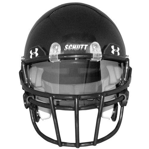 how to put a visor on a riddell helmet