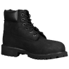 "Timberland 6"" Premium Waterproof Boot - Boys' Preschool - All Black / Black"