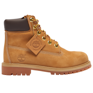 "Timberland 6"" Premium Waterproof Boot - Boys' Grade School - Wheat"