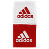 "adidas Interval 3"" Reversible Wristbands - Men's - Red / White"