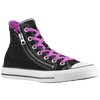 Converse All Star Double Zip Hi - Men's - Black / White