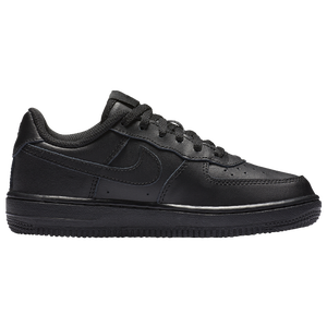 Nike Air Force 1 Low - Boys' Preschool - Black/Black