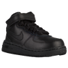 Nike Air Force 1 Mid - Boys' Toddler - All Black / Black