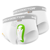 Shock Doctor Core Brief with Single BioFlex Cup - Boys' Grade School - White / Grey