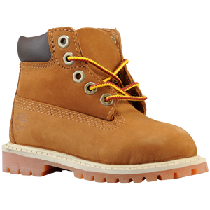 "Timberland 6"" Premium Waterproof Boot - Boys' Toddler - Rust/Honey"