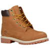 "Timberland 6"" Premium Waterproof Boot - Boys' Grade School - Tan / Tan"