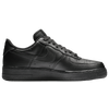 Nike Air Force 1 Low - Men's - All Black / Black