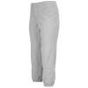 Mizuno Select Non-Belted Fastpitch Pant - Women's - Grey / Grey