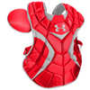 Under Armour Pro Chest Protector - Men's - Red / Silver