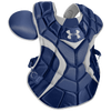 Under Armour Pro Chest Protector - Men's - Navy / Silver
