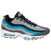 Nike Air Max 95 No Sew - Men's - Grey / Light Blue