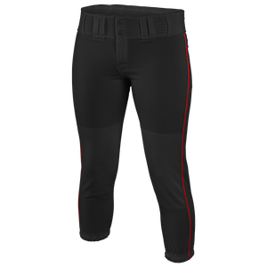 Easton Low Rise Pro Piped Pant - Women's - Black/Red