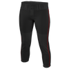 Easton Low Rise Pro Piped Pant - Women's - Black / Red