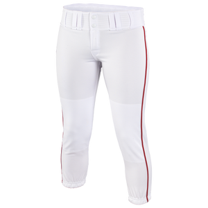 Easton Low Rise Pro Piped Pant - Women's - White/Red