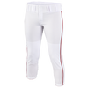 Easton Low Rise Pro Piped Pant - Women's - White / Red