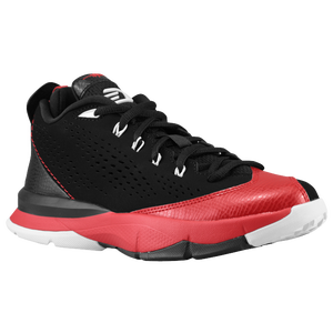 Jordan CP3.VII - Boys' Grade School - Black/Gym Red/White/Cement Grey