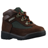 Timberland Field Boot - Boys' Toddler - Brown / Olive Green