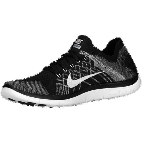 Nike Free 4.0 Flyknit - Men's - Running - Shoes - Black/Wolf Grey/Dark