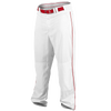 Rawlings Ace Relaxed Fit Piped Pants - Men's - White / Red