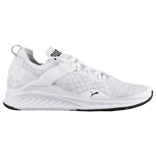 PUMA Ignite Evoknit Lo Men's Running Shoes WhiteVapour GreyBlack