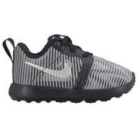 Nike Roshe Run Flight Weight - Boys' Toddler - Silver / Black