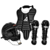 All Star League Series Catcher's Kit - Boys' Grade School - All Black / Black