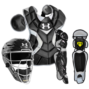 Under Armour Pro Catcher's Kit - Boys' Grade School - Black