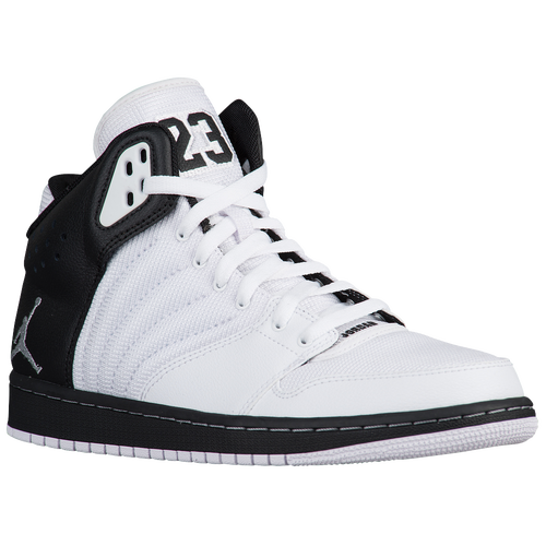 nike air force 1 low blanche - Jordan 1 Flight 4 - Men's - Basketball - Shoes - Black/Wolf Grey/White