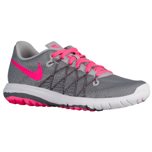 Womens Nike Flex Fury 2 Runner Gray/Pink/Green Super Shoes