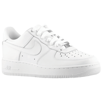 ... Nike Air Force 1 Low - Boys\u0026#39; Grade School - All White / White