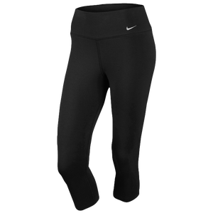Nike Legend 2.0 Tight Dri-Fit Cotton Capri - Women's - Black/Cool Grey