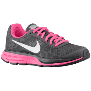 Nike Air Pegasus+ 30 - Girls' Grade School - Dark Charcoal/Pink Foil/Black/Metallic Silver