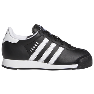adidas Originals Samoa - Boys' Preschool - Black/White/Black