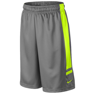 Nike Franchise Short - Boys' Grade School - Sport Grey/Volt