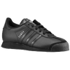 adidas Originals Samoa - Boys' Grade School - All Black / Black