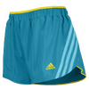 "adidas Climacool Supernova 2.5"" Running Short - Women's - Light Blue / Yellow"