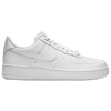 Nike Air Force 1 Low - Men's - All White / White