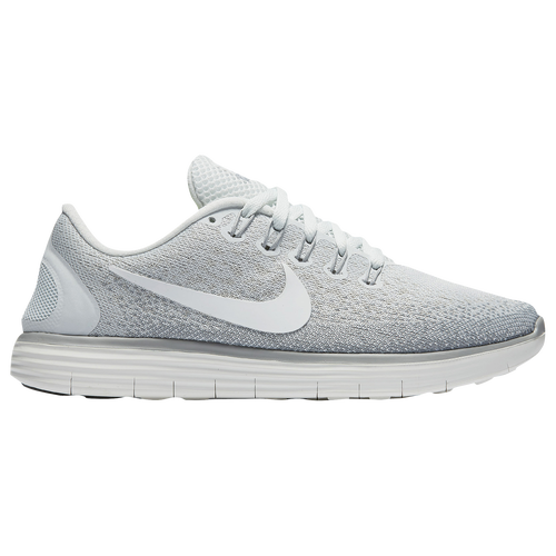 8ab8de4638c8 Nike Free RN Distance Womens Running Shoes Off White Summit White Light  Bone