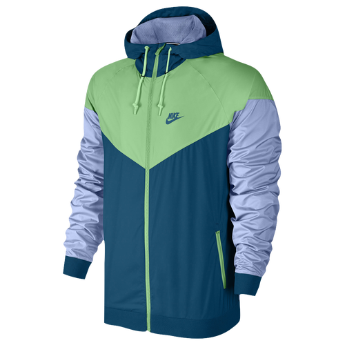 a2ed103e01 Nike Windrunner Jacket Mens Casual Clothing Industrial Blue Tourmaline Aluminum  hot sale 2017